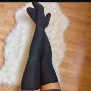 Zara knee boots